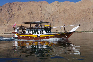 Brown Dhow - Oman
