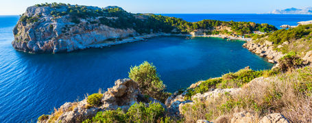 A bay in the Dodecanese Islands, Greece